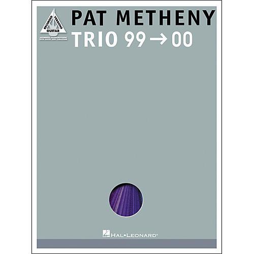 Hal Leonard Pat Metheny Trio '99-'00 Guitar Tab Songbook-thumbnail