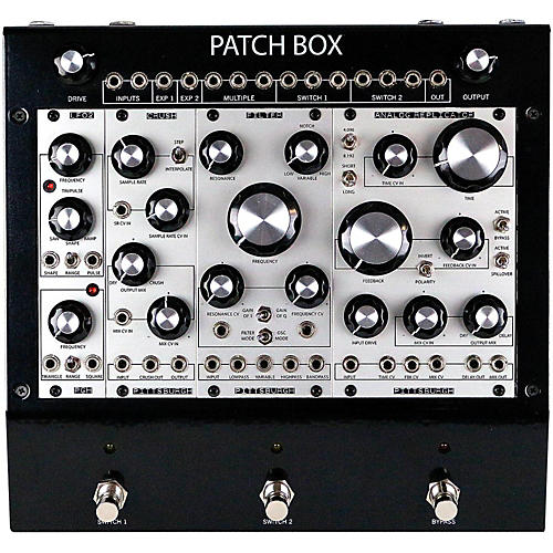 Pittsburgh Modular Synthesizers Patch Box FX1 Modular Eurorack Multi-Effects Pedal System-thumbnail