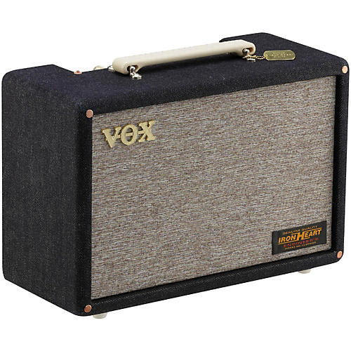 Vox Pathfinder 10 10W 1x6.5 Limited Edition Denim Mini Guitar Combo Amp-thumbnail