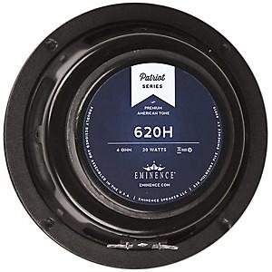 Eminence Patriot 620H 6 inch 20 Watt Guitar Speaker Hemp Cone by Eminence