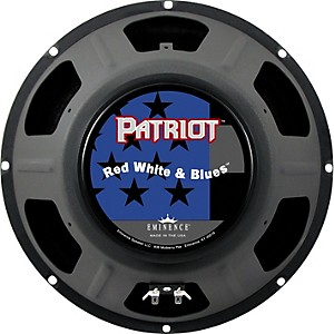Eminence Patriot Red White and Blues 120 Watt Guitar Speaker by Eminence