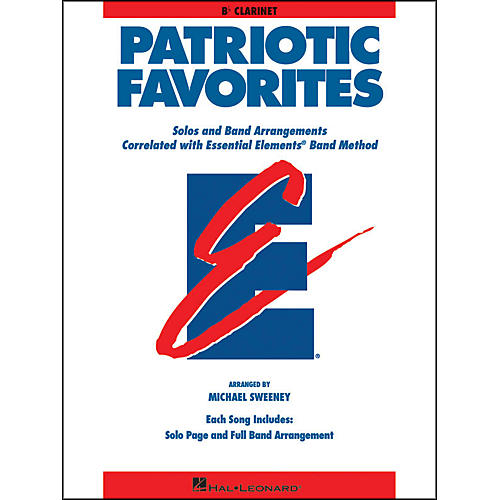 Hal Leonard Patriotic Favorites Bb Clarinet