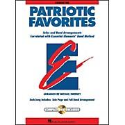 Hal Leonard Patriotic Favorites Cond Book/CD