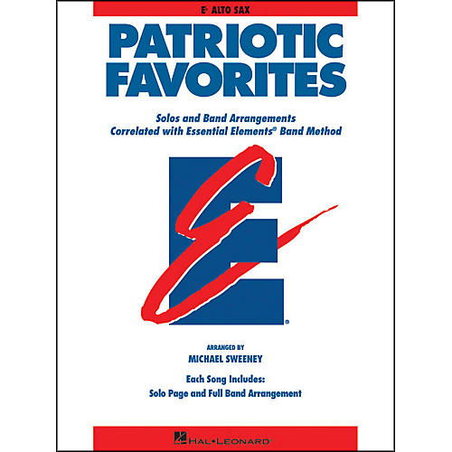 Hal Leonard Patriotic Favorites Eb Alto Saxophone-thumbnail
