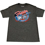 Fender Patriotic Strat T Shirt
