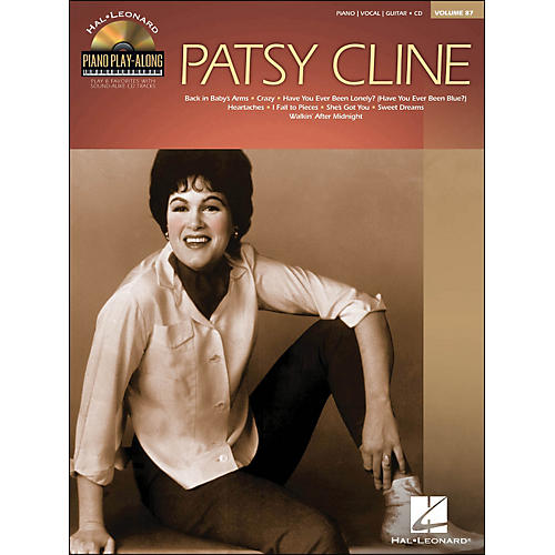 Hal Leonard Patsy Cline - Piano Play-Along Volume 87 (CD/Pkg) arranged for piano, vocal, and guitar (P/V/G)-thumbnail