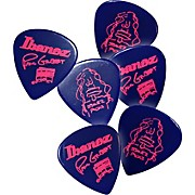 Ibanez Paul Gilbert Blue Signature Picks 6-Pack