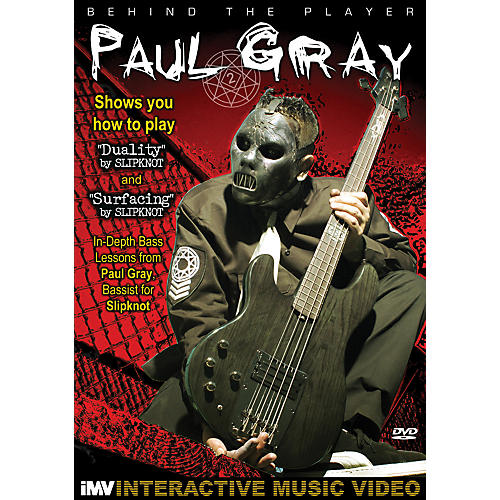 IMV Paul Gray: Behind the Player DVD-thumbnail