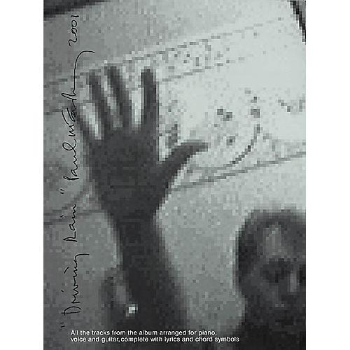 Hal Leonard Paul McCartney - Driving Rain Piano, Vocal, Guitar Songbook