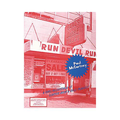 Hal Leonard Paul McCartney - Run Devil Run Piano, Vocal, Guitar Songbook-thumbnail