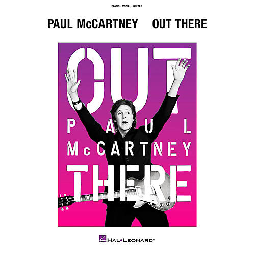 Hal Leonard Paul Mccartney - Out There Tour Piano/Vocal/Guitar Songbook-thumbnail