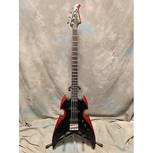 Silvertone Paul Stanley Bass Electric Bass Guitar
