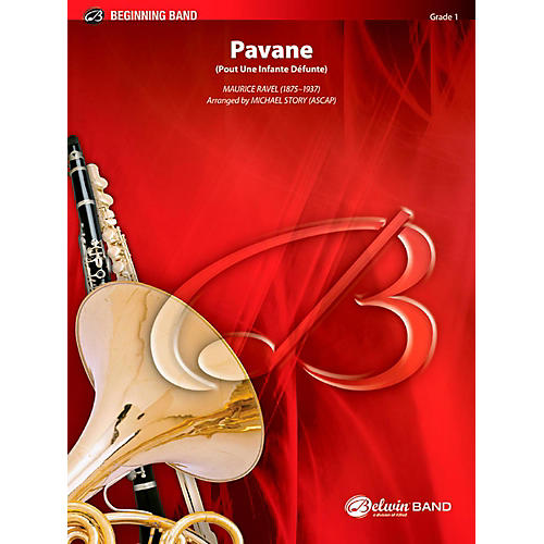 BELWIN Pavane Concert Band Grade 1 (Very Easy)-thumbnail