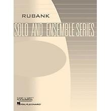 Rubank Publications Pavane pour une Infante Défunte (Saxophone Trio with Piano - Grade 2) Rubank Solo/Ensemble Sheet Series