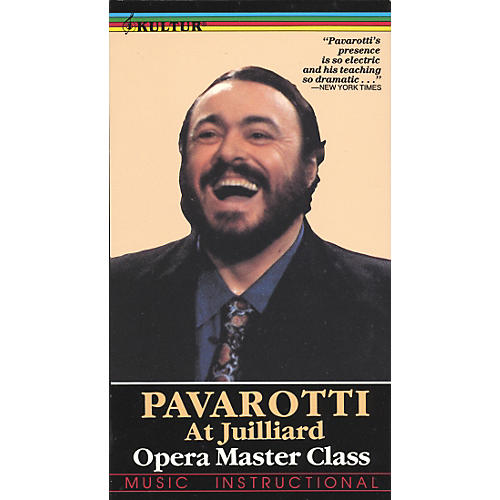 Kultur Pavarotti Master Class at Julliard Video