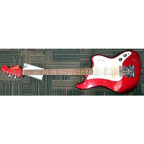 Fender Pawn Shop Bass VI Baritone Electric Bass Guitar-thumbnail