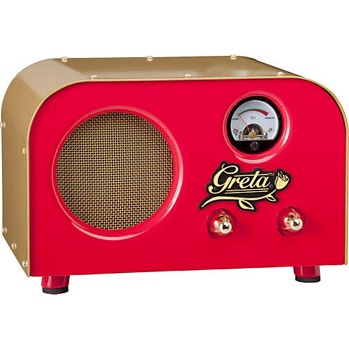 Fender Pawn Shop Special Greta 2W 1x4 Tube Guitar Combo Amp Red and Gold