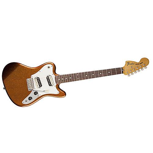 Fender Pawn Shop Super-Sonic Electric Guitar Sunfire Orange Flake Rosewood Fingerboard