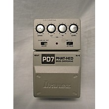 Ibanez Pd7 PHAT HED BASS OVERDRIVE Effect Pedal