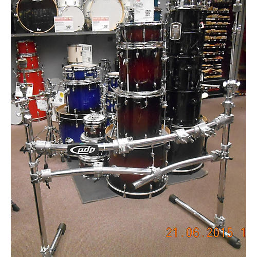 used pdp by dw pdsrpk05 drum rack guitar center. Black Bedroom Furniture Sets. Home Design Ideas