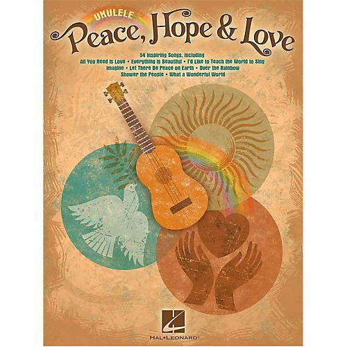 Hal Leonard Peace Hope & Love Ukulele Songbook-thumbnail