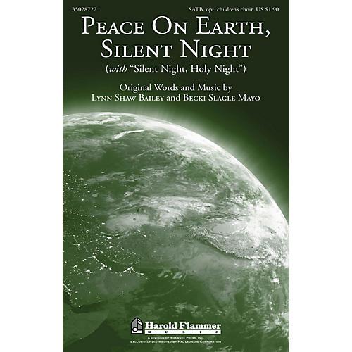 Shawnee Press Peace On Earth, Silent Night SATB composed by Lynn Shaw Bailey