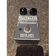 Greer Amplification Peacemaker Effect Pedal