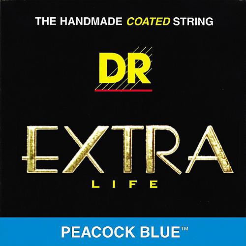 DR Strings Peacock Blues Medium Electric Guitar Strings-thumbnail