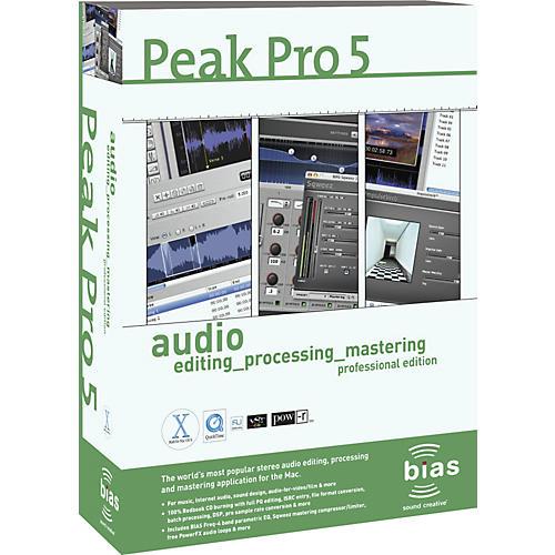 Bias Peak Pro 5