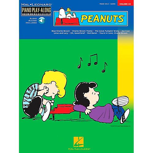 Hal Leonard Peanuts Piano Play Along Volume 33 Book with CD
