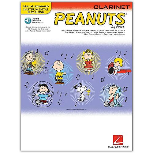 Hal Leonard Peanuts for Clarinet - Instrumental Play-Along Book/Online Audio