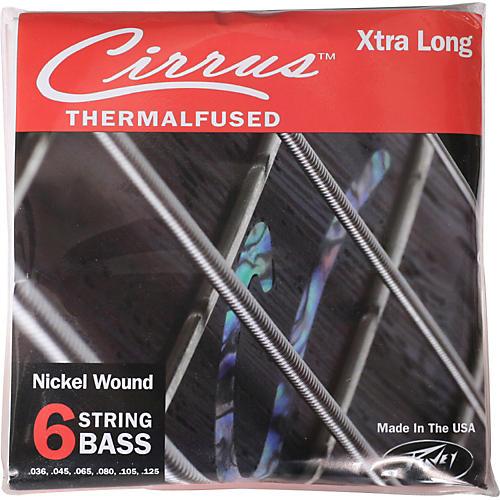 Peavey Peavey Cirrus Nickel-Wound Electric Bass Strings 6XL-thumbnail