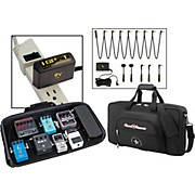 Pedal Board with Bag and Visual Sound 1 Spot Combo Pack