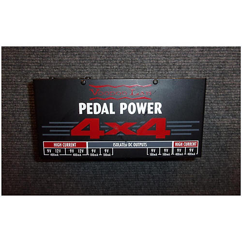 Voodoo Lab Pedal Power 4X4 Power Supply-thumbnail