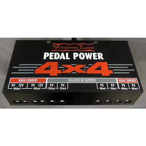Voodoo Lab Pedal Power 4x4 ELEC ELECT.A PEDAL B