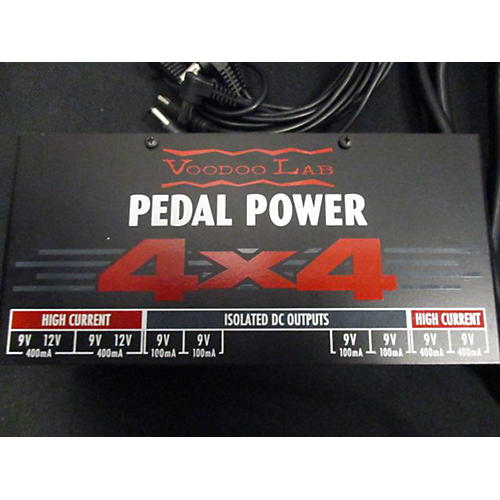 used voodoo lab pedal power 4x4 power supply guitar center. Black Bedroom Furniture Sets. Home Design Ideas