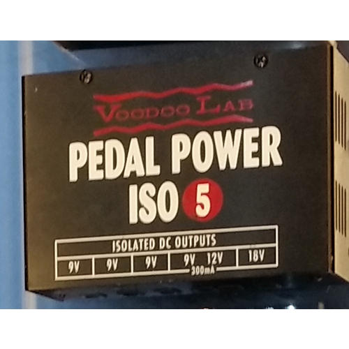 Voodoo Lab Pedal Power ISO 5 Power Supply-thumbnail