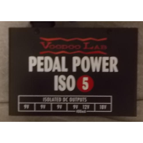 Voodoo Lab Pedal Power ISO5 Power Supply-thumbnail