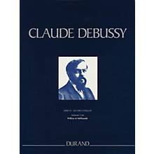 Editions Durand Pelléas et Mélisande Critical Edition Piano/Vocal Score, Hardbound by Debussy Edited by Grayson