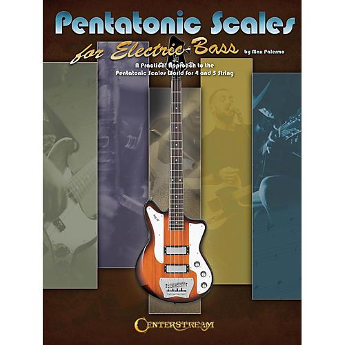 Hal Leonard Pentatonic Scales for Electric Bass (Book)-thumbnail