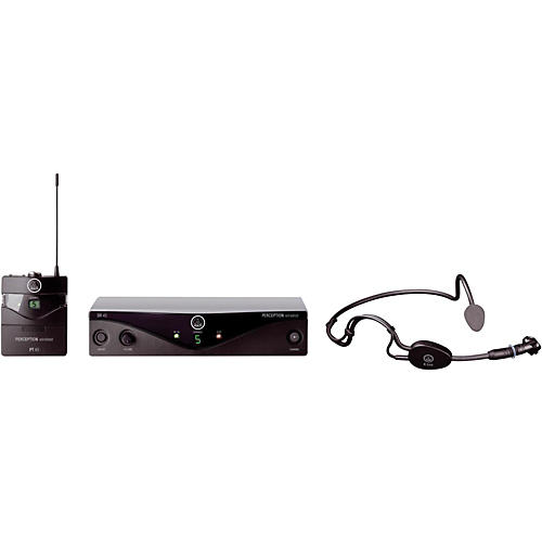 AKG Perception Wireless Sports Set Band A with D8000M Handheld Mic