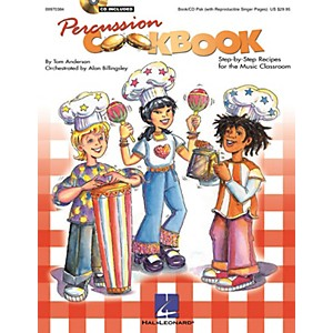 Hal Leonard Percussion Cookbook Collection/Resource Book/CD Pack Compos...