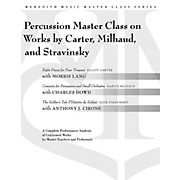 Meredith Music Percussion Masterclass On Works By Carter, Milhaud And Stravinsky