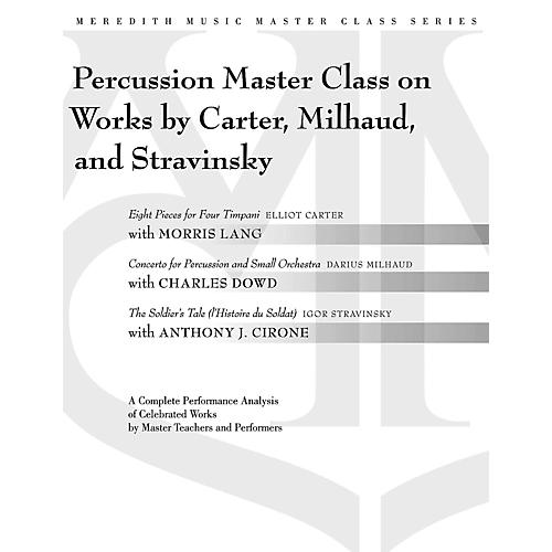 Meredith Music Percussion Masterclass On Works By Carter, Milhaud And Stravinsky-thumbnail