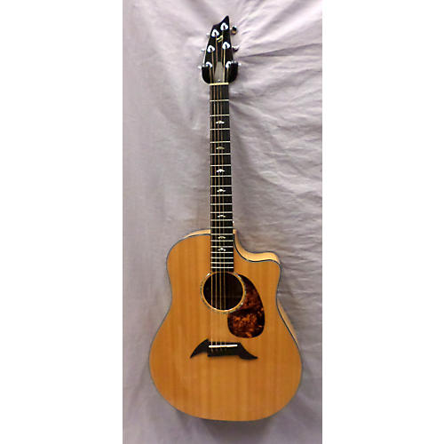 Breedlove Performance Focus Maple D Acoustic Electric Guitar Natural