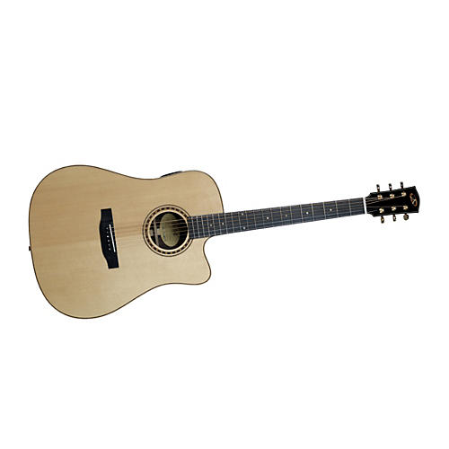 Bedell Performance Monitor Series THCE-28-G Dreadnought Acoustic-Electric Guitar-thumbnail