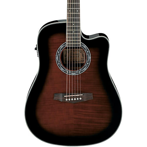 The Fender FACE Cutaway Concert Acoustic-Electric Guitar is built on the concert-style platform for a sleek, modern design. The laminated spruce top features X-bracing for bright, punchy tone, ideal for lead guitar.