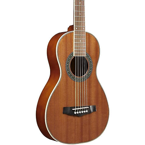 Ibanez Performance PN1MHOPN Mahogany Parlor Acoustic Guitar-thumbnail
