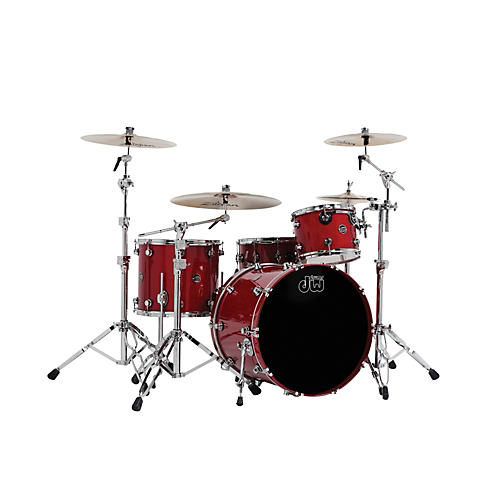 DW Performance Series 4-Piece Shell Pack Candy Apple Lacquer