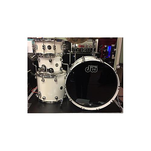 DW Performance Series Drum Kit WHITE ICE